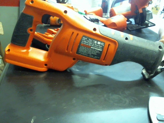 BLACK&DECKER Reciprocating Saw CRS144
