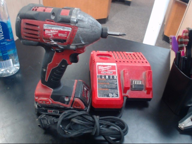 MILWAUKEE Impact Wrench/Driver M18 IMPACT DRIVER