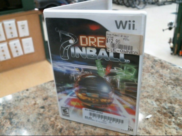 NINTENDO Nintendo Wii Game DREAM PINBALL