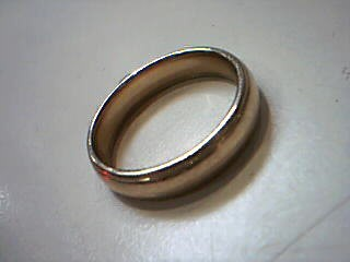 Gent's Gold Wedding Band 14K Yellow Gold 8.4g Size:12