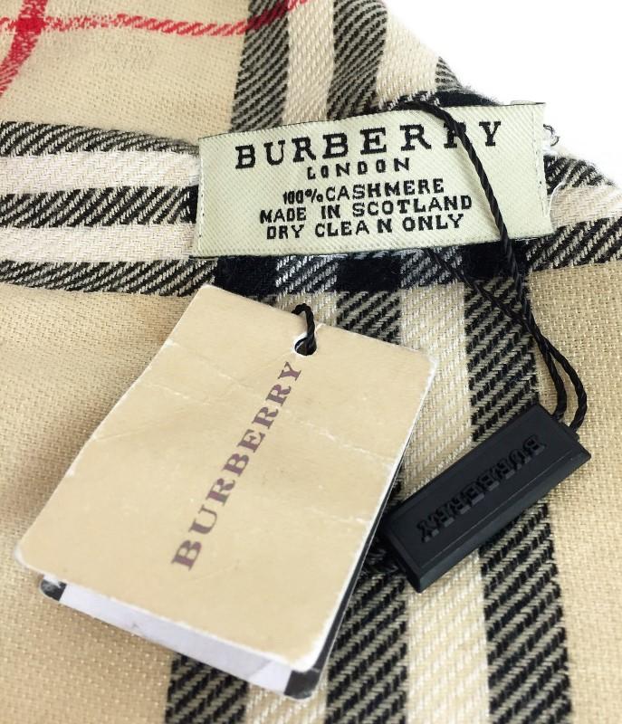 BURBERRY NOVA CHECK CASHMERE SCARF