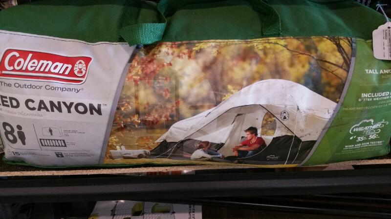 COLEMAN Camping RED CANYON TENT