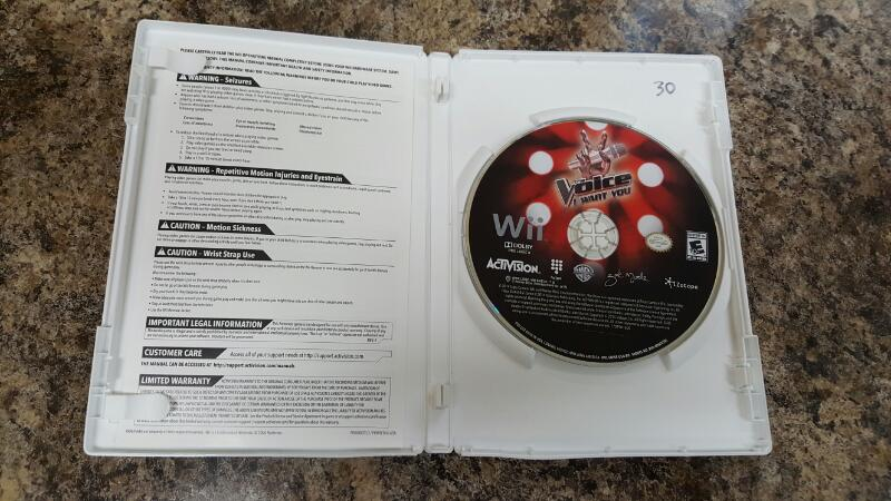 NINTENDO Nintendo Wii Game WII THE VOICE
