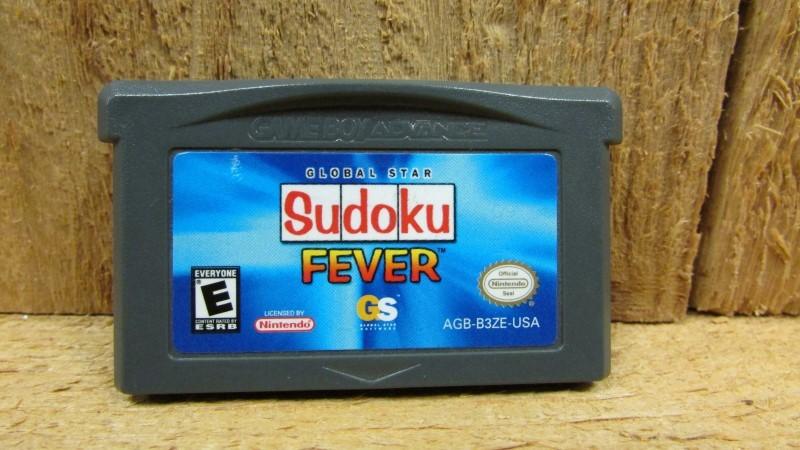 NINTENDO Nintendo GBA Game SUDOKU FEVER