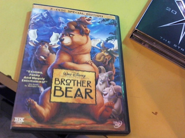 DVD MOVIE DVD BROTHER BEAR (2004)