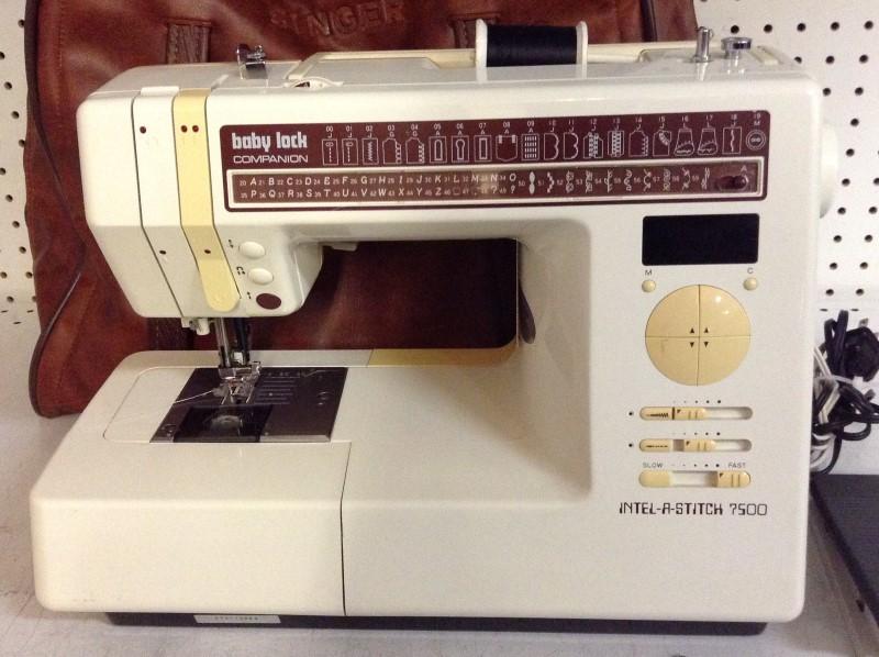 BABY LOCK Sewing Machine INTEL-A-STITCH 7500