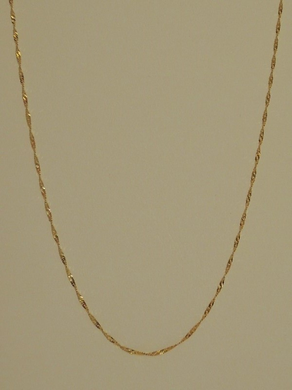 Gold Chain 10K Yellow Gold 0.7g