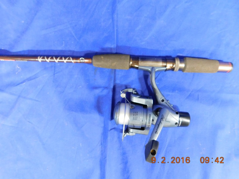 ABU GARCIA ROD W/ SHAKESPEARE REEL