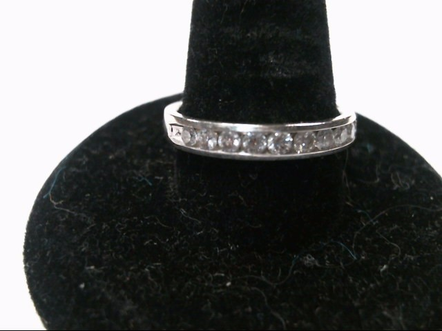 Lady's Diamond Wedding Band .25 CT. 14K White Gold 7.4g