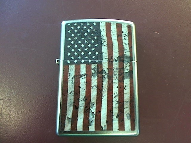 ZIPPO U.S.A. FLAG LIGHTER