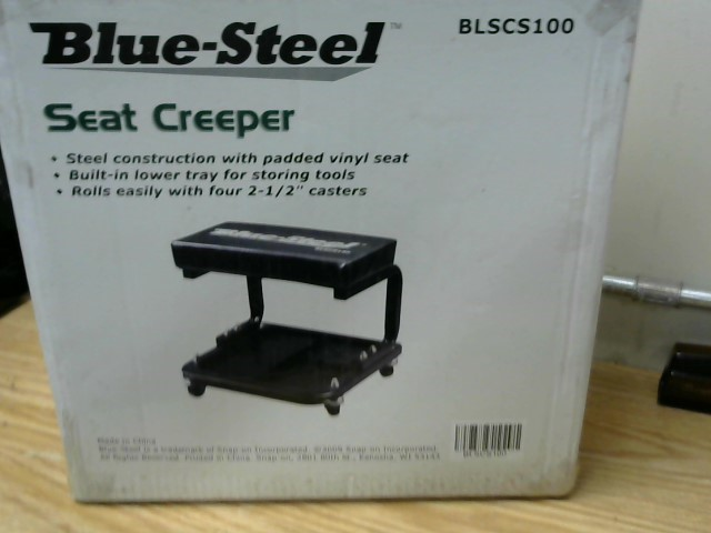BLUE STEEL SEAT CREEPER