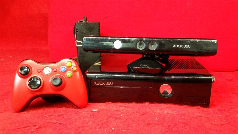 Microsoft Xbox 360 250gb HDD Game System w/ KINECT