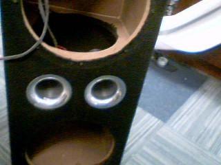 Speaker Cabinet SUBWOOFER BOX