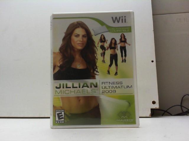 NINTENDO Nintendo Wii Game JILLIAN MICHAELS: FITNESS ULTIMATUM 2009