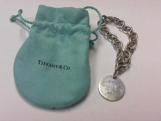 Tiffany & Co. Silver Fashion Bracelet 925 Silver 35.8g