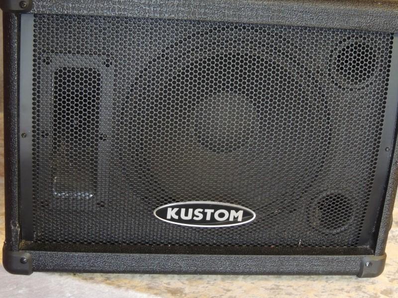 KUSTOM Monitor PA Speaker KSC10M