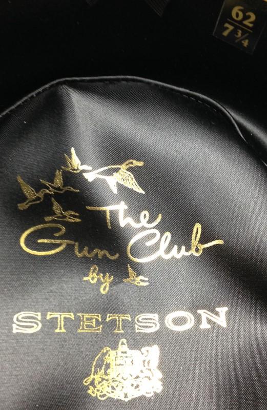 STETSON Hat GUN CLUB ROYAL FLUSH HAT