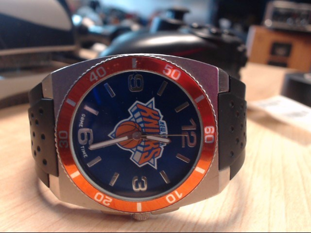 GAME TIME Gent's Wristwatch KNICKS