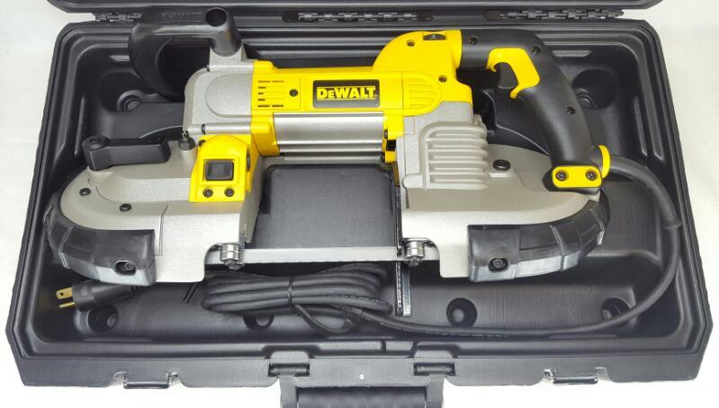 Brand New DEWALT DWM120 10 Amp 5-Inch Deep Cut Portable Band Saw (PB1004897)