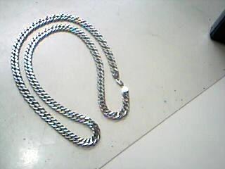 """30"""" Silver Fashion Chain 925 Silver 74.3g"""