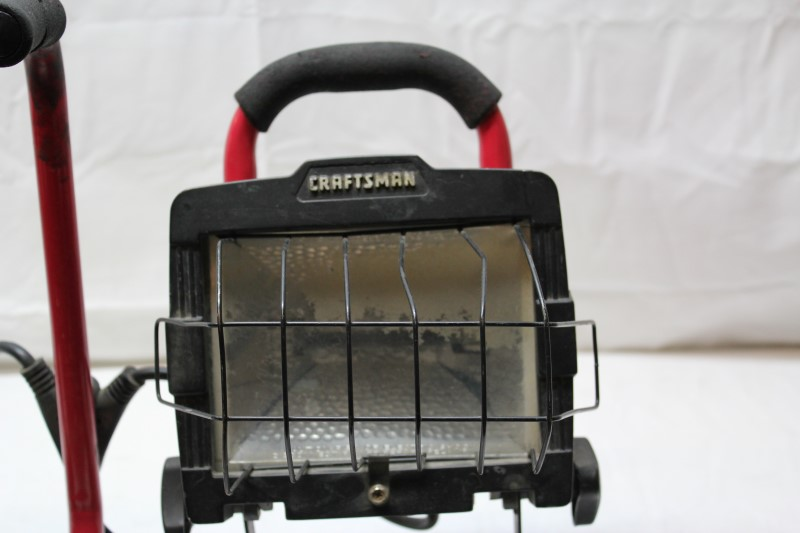 CRAFTSMAN Work Light HALOGEN WORKLIGHTS