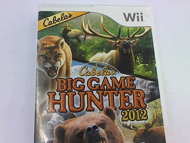 WII BIG GAME HUNTER 2012
