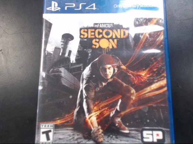 SONY Sony PlayStation 4 Game SECOND SON - PS4