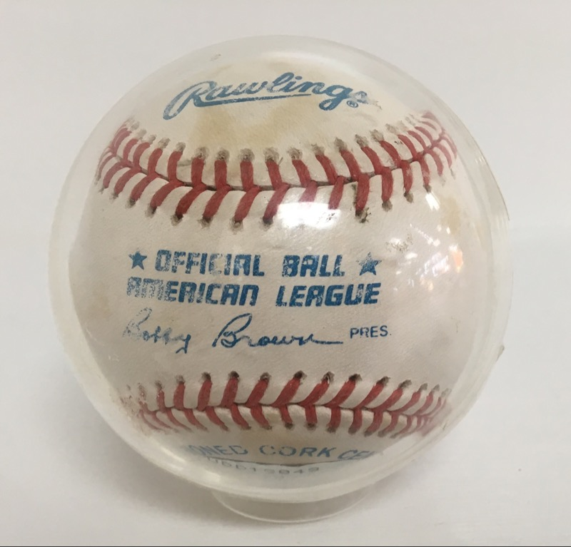 Roger Clemmons Signed/Auto Baseball *Upper  Deck Authenticated*