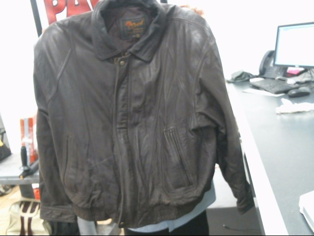 REED SPORTSWEAR Coat/Jacket LEATHER JACKET