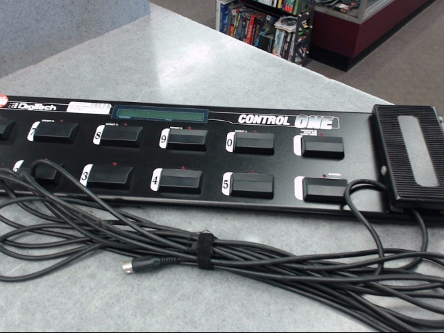 DIGITECH Effect Equipment CONTROL ONE