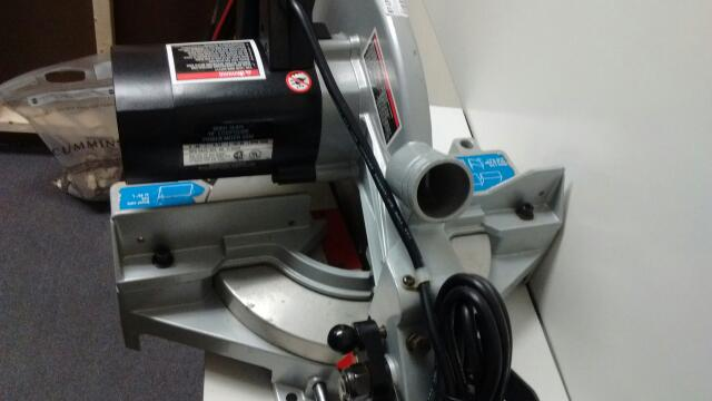 "DELTA TOOLS COMPOUND MITER SAW 10"" 36-075"