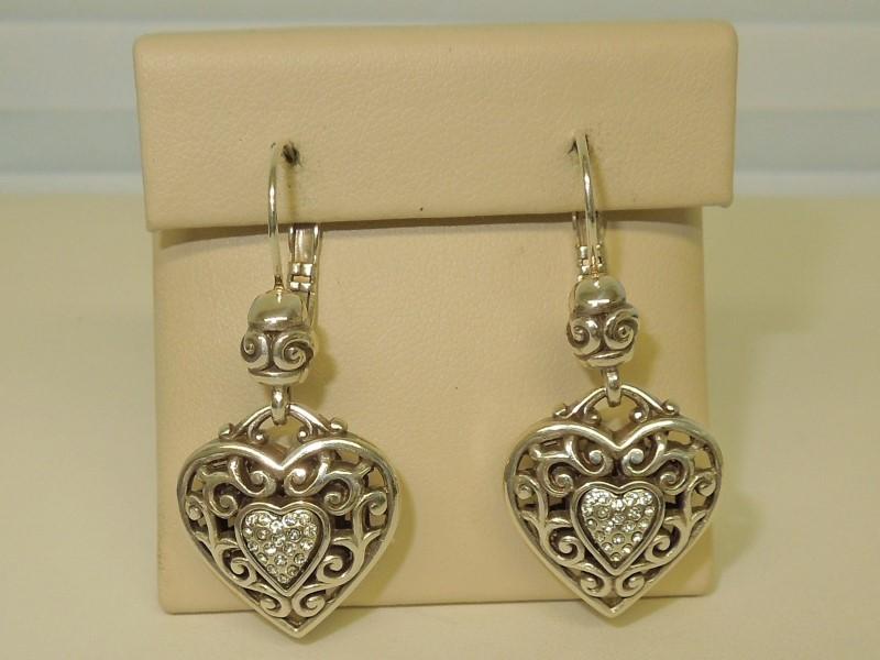 Silver Earrings 925 Silver 10.09g