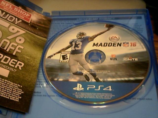 Madden 16 PS4