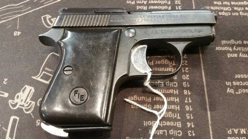 FIE ARMS Pistol TITAN