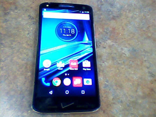 VERIZON Cell Phone/Smart Phone DROID TURBO 2