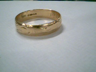 Gent's Gold Ring 14K Yellow Gold 3.2g Size:9.5