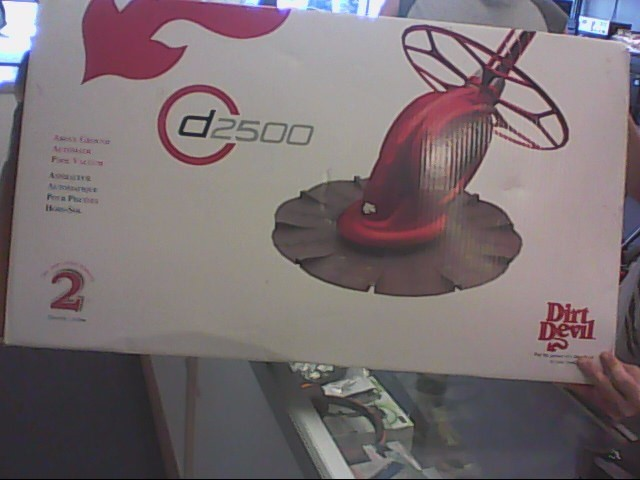 DIRT DEVIL Vacuum Cleaner D2500