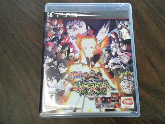SONY Sony PlayStation 3 Game NARUTO SHIPPUDEN ULTIMATE NINJA STORM REVOLUTION