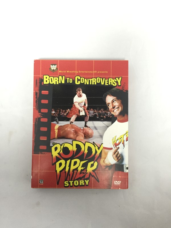 Born to Controversy: The Roddy Piper Story-WWE (DVD, 2006, 3-Disc)