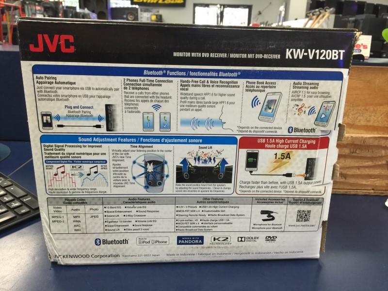 JVC Car Video KW-V120BT