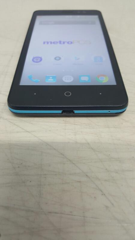 ZTE Avid Plus, 8gb (Z828, Blue, MetroPCS)