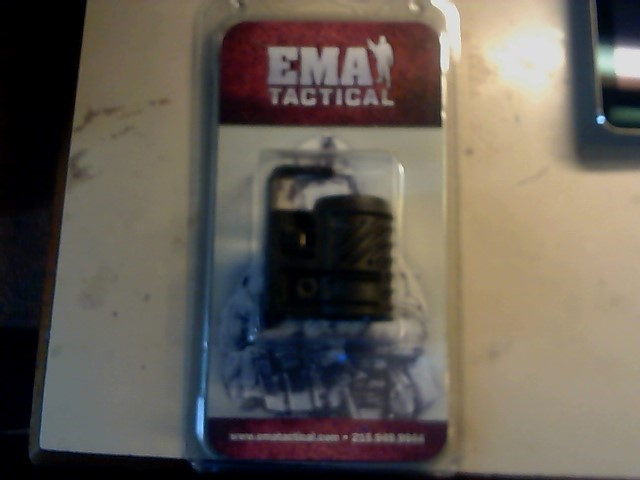EMA TACTICAL one inch flashlight MOUNT