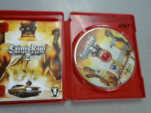 SONY Sony PlayStation 3 Game GAME SAINTS ROW 2 - PS3