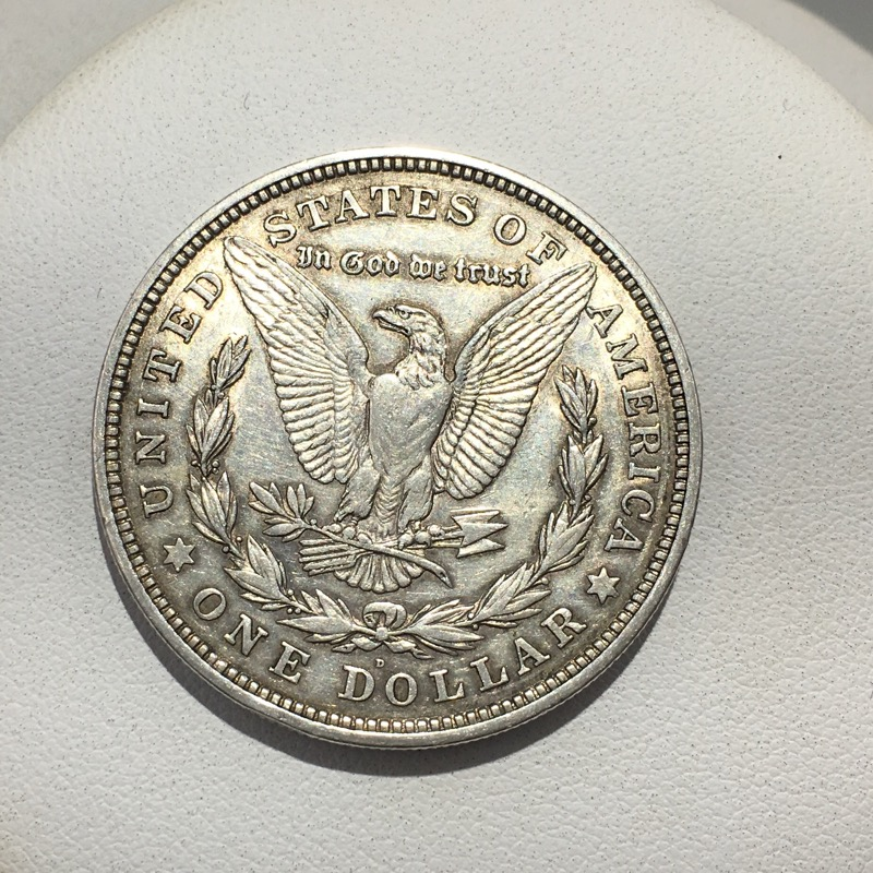 1921 D United States Silver Morgan Dollar