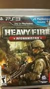 SONY PS3 PlayStation 3 Game HEAVY FIRE AFGHANISTAN