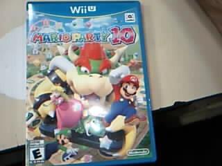 NINTENDO Nintendo Wii U Game WII U MARIO PARTY 10