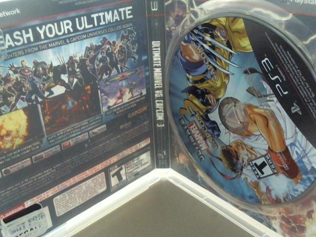 Marvel vs Capcom 3 Sony PlayStation 3 Game PS3 GAMES