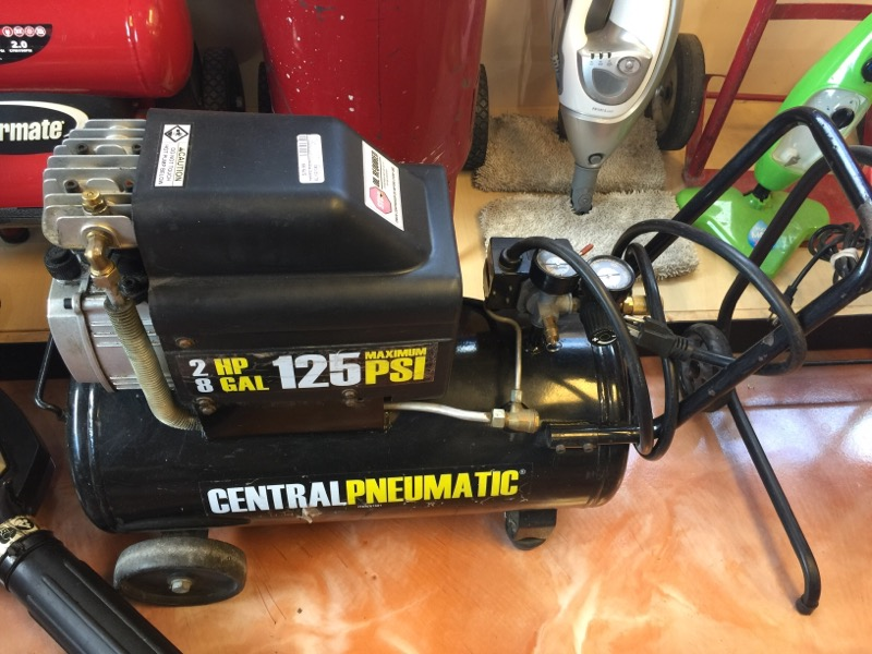 CENTRAL PNEUMATIC Air Compressor 67501