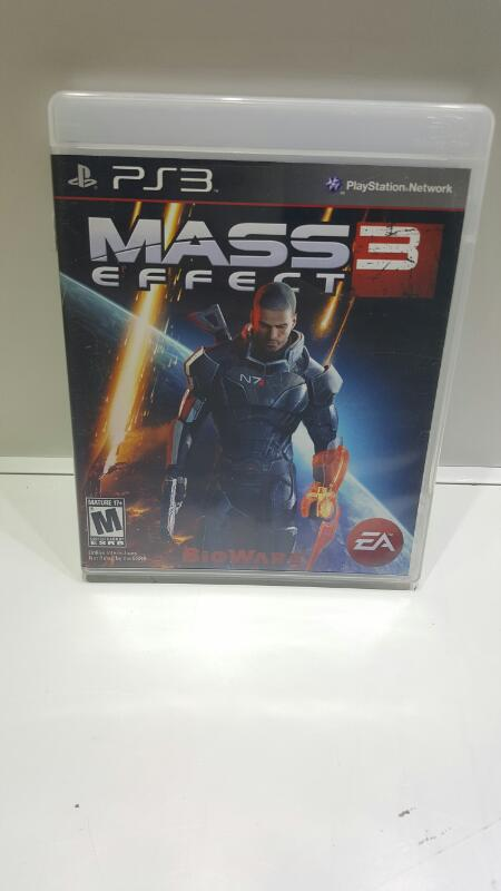 SONY Sony PlayStation 3 Game PS3 MASS EFFECT 3