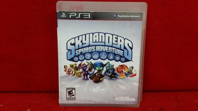 Skylanders Spyros Adventure Sony PS3 Video Game